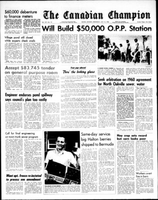 Canadian Champion (Milton, ON), 13 Jul 1966