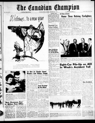 Canadian Champion (Milton, ON), 26 Dec 1963