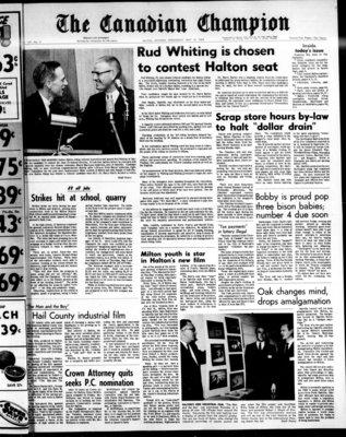 Canadian Champion (Milton, ON), 15 May 1968