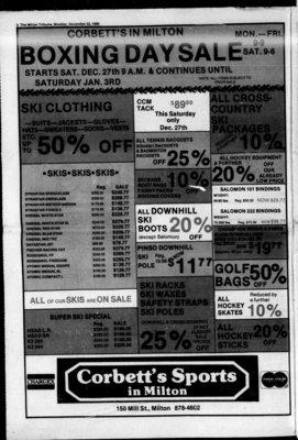 Milton Weekly Tribune (Milton, ON), 22 Dec 1980