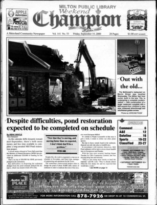 Canadian Champion (Milton, ON), 15 Sep 2000