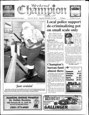 Canadian Champion (Milton, ON), 28 Dec 2002