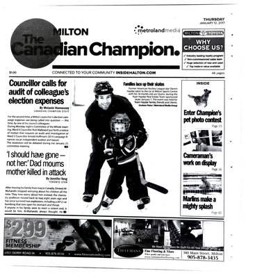 Canadian Champion (Milton, ON), 12 Jan 2017