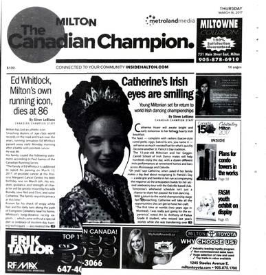 Canadian Champion (Milton, ON), 16 Mar 2017
