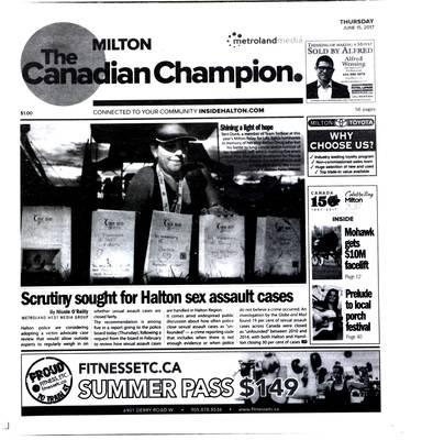 Canadian Champion (Milton, ON), 15 Jun 2017