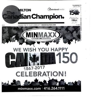 Canadian Champion (Milton, ON), 22 Jun 2017