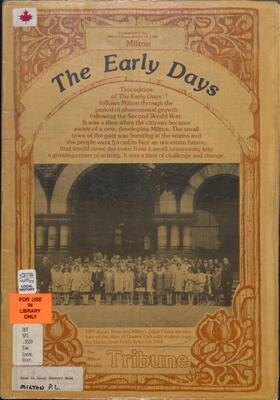 Milton: The Early Days, 1982