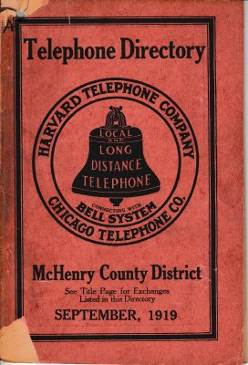 1919 September - McHenry County District Telephone Directory