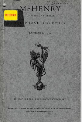 1951 January - McHenry Telephone Directories