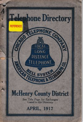 1917 April - McHenry Telephone Directory