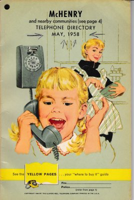 1958 May - McHenry Telephone Directory