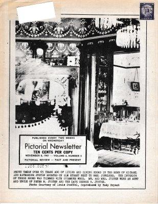 The Pictorial Newsletter: November 8, 1961