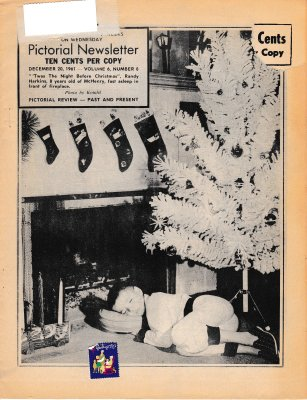 The Pictorial Newsletter: December 20, 1961