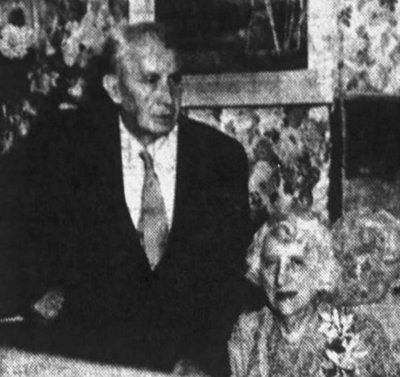 Arthur & Maude Stuhlfeier At Their 50th Anniversary