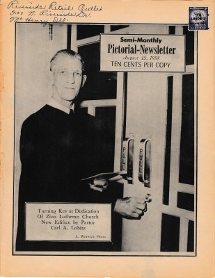 The Pictorial Newsletter: August 15, 1958