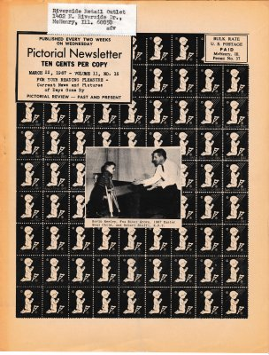 The Pictorial Newsletter: March 22, 1967
