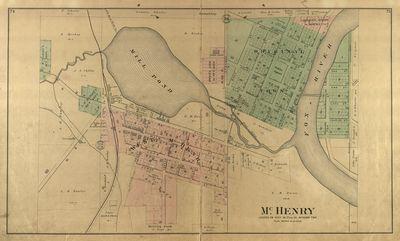 1892 McHenry County Atlas