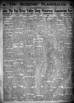McHenry Plaindealer (McHenry, IL), 20 Jan 1921