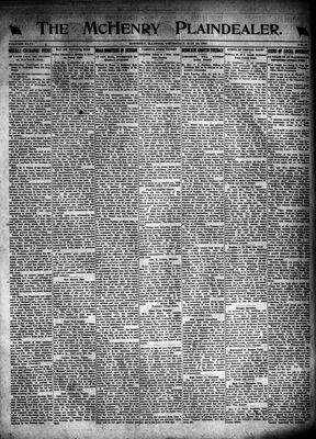 McHenry Plaindealer (McHenry, IL), 19 May 1921