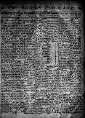 McHenry Plaindealer (McHenry, IL), 9 Jun 1921