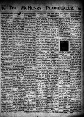 McHenry Plaindealer (McHenry, IL), 7 Jul 1921