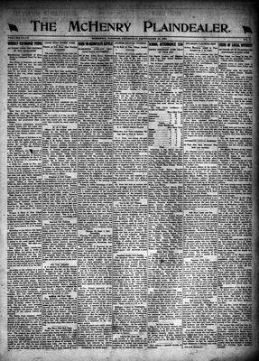 McHenry Plaindealer (McHenry, IL), 15 Sep 1921