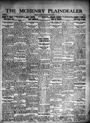 McHenry Plaindealer (McHenry, IL), 8 Jul 1926