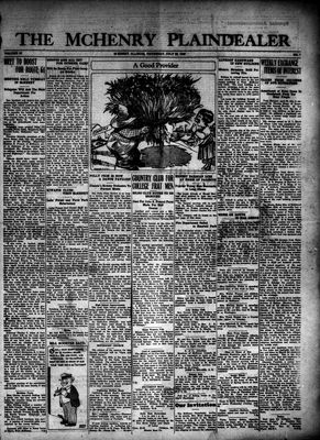 McHenry Plaindealer (McHenry, IL), 22 Jul 1926