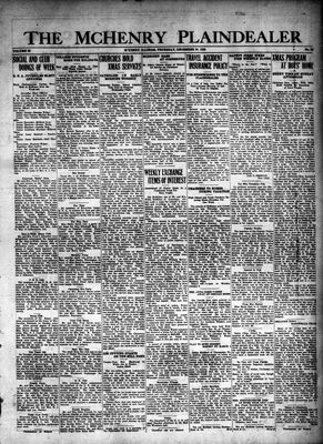 McHenry Plaindealer (McHenry, IL), 30 Dec 1926