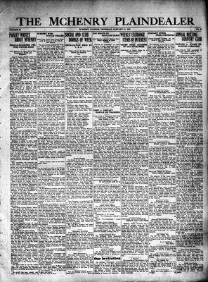 McHenry Plaindealer (McHenry, IL), 13 Jan 1927