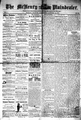 McHenry Plaindealer (McHenry, IL), 12 Jan 1876