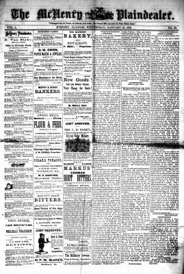 McHenry Plaindealer (McHenry, IL), 19 Jan 1876