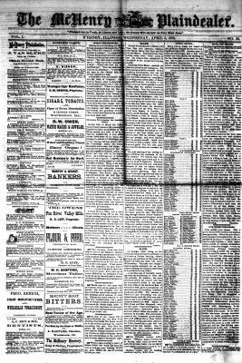 McHenry Plaindealer (McHenry, IL), 5 Apr 1876