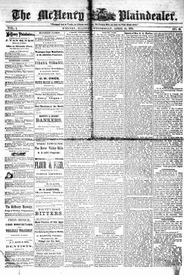 McHenry Plaindealer (McHenry, IL), 19 Apr 1876
