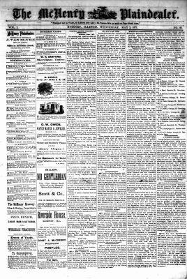 McHenry Plaindealer (McHenry, IL), 2 May 1877