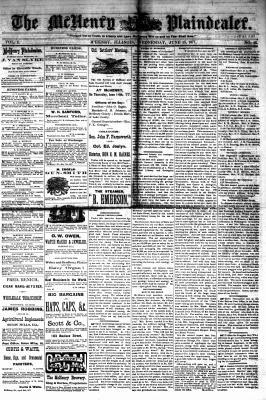 McHenry Plaindealer (McHenry, IL), 13 Jun 1877