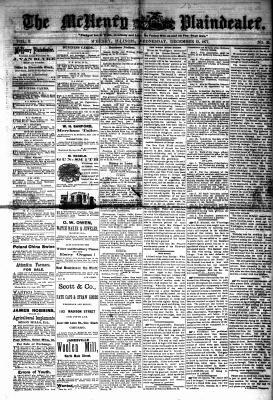 McHenry Plaindealer (McHenry, IL), 12 Dec 1877