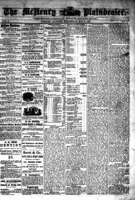 McHenry Plaindealer (McHenry, IL), 8 May 1878