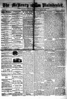 McHenry Plaindealer (McHenry, IL), 5 Jun 1878