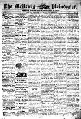 McHenry Plaindealer (McHenry, IL), 26 Jun 1878
