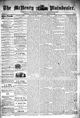 McHenry Plaindealer (McHenry, IL), 21 Aug 1878