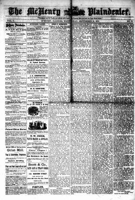 McHenry Plaindealer (McHenry, IL), 18 Nov 1878