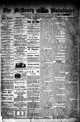 McHenry Plaindealer (McHenry, IL), 1 Jan 1879