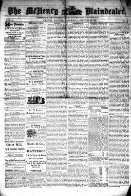 McHenry Plaindealer (McHenry, IL), 22 Jan 1879