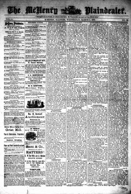 McHenry Plaindealer (McHenry, IL), 5 Mar 1879