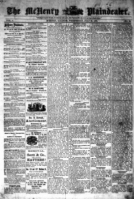 McHenry Plaindealer (McHenry, IL), 23 Jul 1879