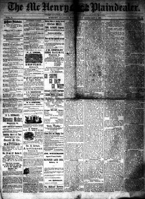 McHenry Plaindealer (McHenry, IL), 4 Feb 1880