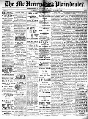 McHenry Plaindealer (McHenry, IL), 18 Aug 1880