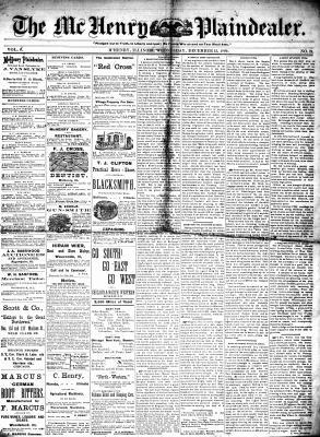 McHenry Plaindealer (McHenry, IL), 15 Dec 1880