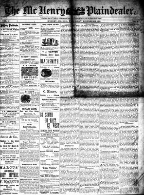 McHenry Plaindealer (McHenry, IL), 29 Dec 1880